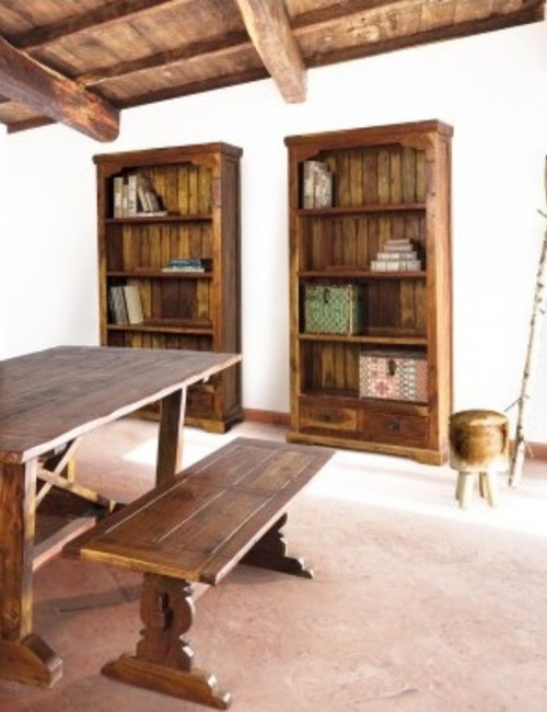 Chateaux Wooden Bookcase 03