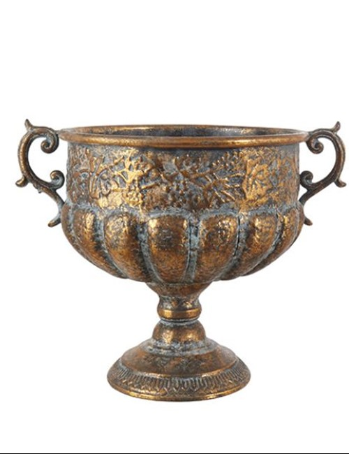 Antique Bronze Pot Medium
