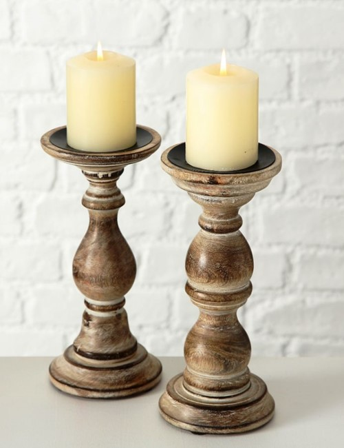 Moca Brown Candleholder 5