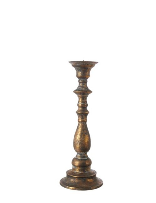 BRONZE CANDLE HOLDER SMALL