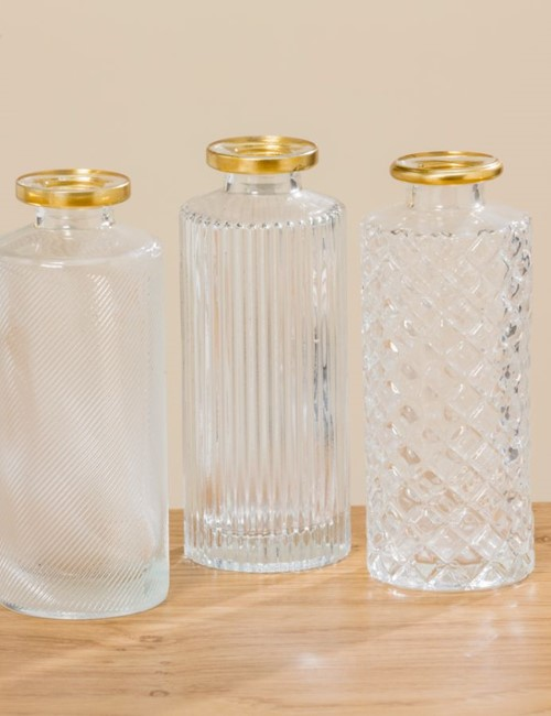 Deco Bottle Glass 2