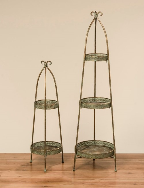 Deco Etagere Gold Iron